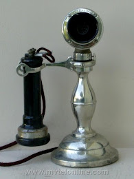 Candlestick Phones - American Electric Potbelly Candlestick Telephone 1