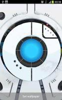 Screenshot of Space Robot LiveWallpaper