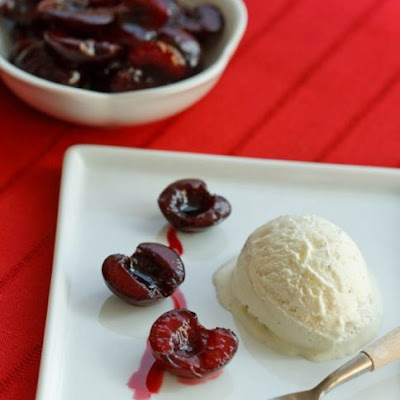 Cherries with Balsamic Vinegar