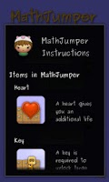 Screenshot of MathJumper LITE