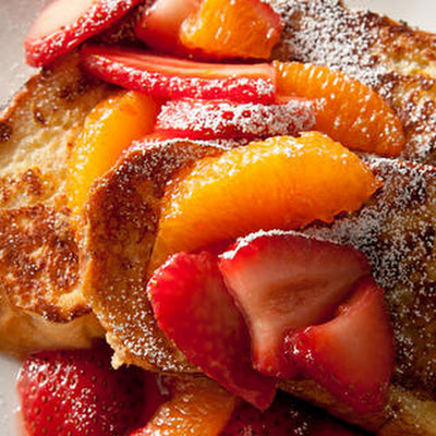 Challah French Toast with Strawberries