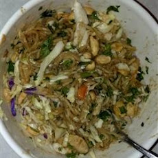 Thai Noodles and Chicken