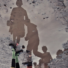 In the Market by Galli Levy - City,  Street & Park  Markets & Shops ( water, reflection, market, people, ethiopia,  )