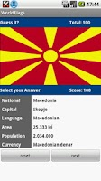 Screenshot of World Flag Quiz