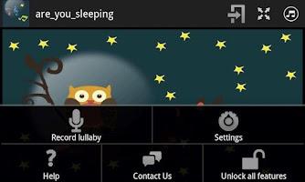 Screenshot of Baby Lullaby - Unlocker App