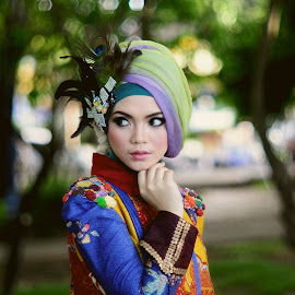Hijab#2 by Wahyu Laraswanto - People Portraits of Women