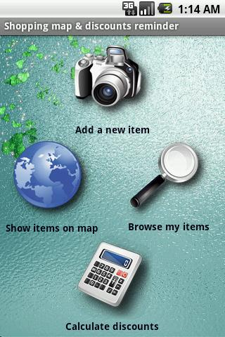Shopping Map - Tag your wishes