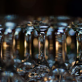 Glass bokeh by Matija Rođak - Artistic Objects Cups, Plates & Utensils ( cups, glass, bokeh )