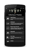 Screenshot of Infamous CM11 Theme Free