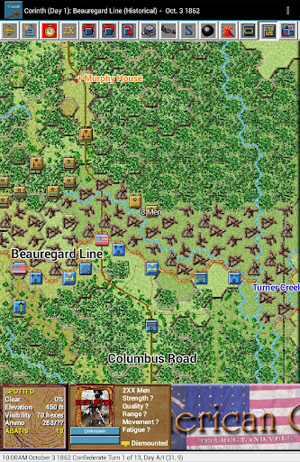 Civil War Battles - Corinth - screenshot