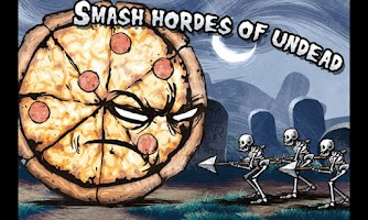 Screenshot of Pizza Vs. Skeletons
