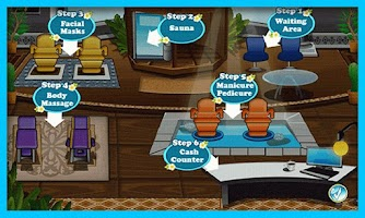 Screenshot of Sally Spa Salon- Fashion Games