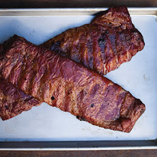 Ribs with Spicy Bourbon Barbecue Sauce Recipe
