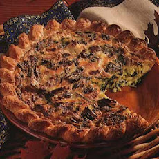 Leek and Swiss Chard Tart