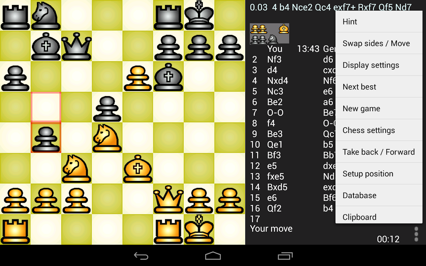 Chess Genius Screenshot 5