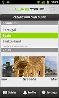 Screenshot of Labtrip Travel Guide