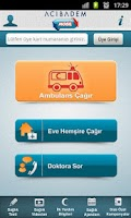 Screenshot of Acibadem Mobil Saglik