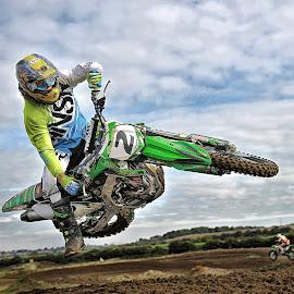 Scrub Time by Chris Richards - Sports & Fitness Motorsports ( motorcycles, motorbike, motocross, moto, motorsport )