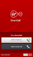Screenshot of Virgin Media SmartCall