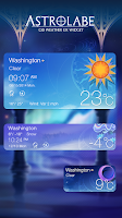 Screenshot of ASTROLABE THEME GO WEATHER EX