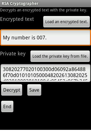 Cipher Android