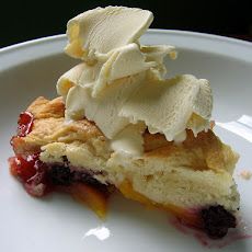 Blueberry(Or Blackberry) Cobbler With Honey Biscuits