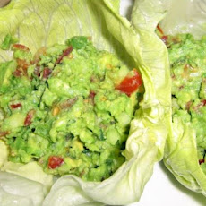 Avocado Salad Lettuce Wraps