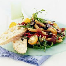 Penne Salad With Bresaola And Black Olives