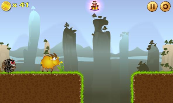 Running sheep 2 apk screenshot