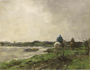 RIJKS: Jacob Maris: painting 1896
