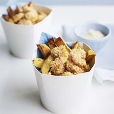 Cheat's Scampi With Chunky Chips