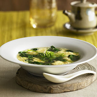 Egg Flower Soup With Vegetables Recipes