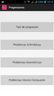 Progresiones Lite - screenshot