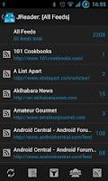 Screenshot of JReader (Google Reader   RSS)