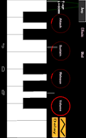 Screenshot of AnalogSynthesizerFree:piano