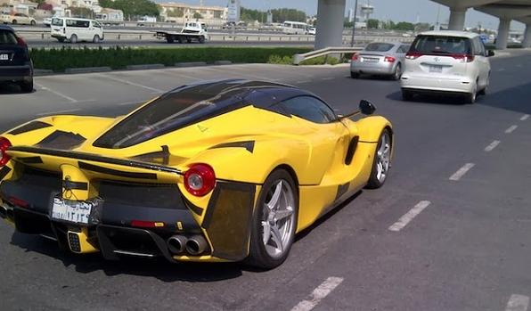 Supercar Watch Laferrari Pictured In Dubai Photos