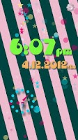 Screenshot of [Free]Polka Dots Flow ! Clock