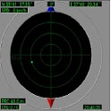 Electronic radar compass trial icon