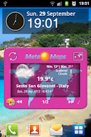 Screenshot of Meteo Maps Weather