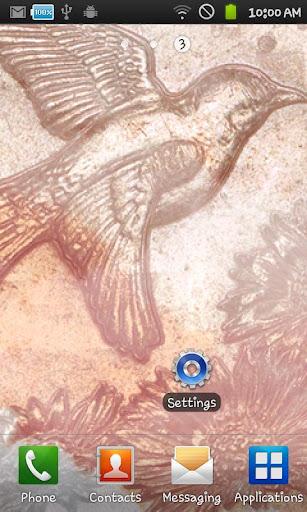 玩免費個人化APP 下載Livewallpaper ArtCoin Bird app不用錢 硬是要APP