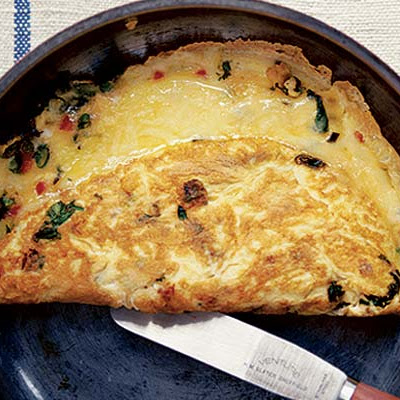 Chilli Cheese Omelette