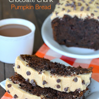 Caramel Chocolate Chunk Pumpkin Bread