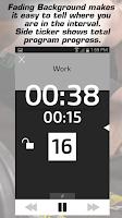 Screenshot of Gymboss Interval Timer