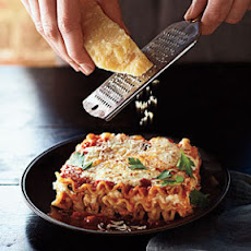 Three-Cheese Lasagna