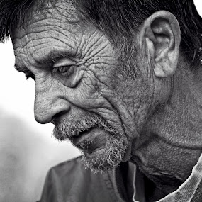 Weathered by Robert Daveant - People Portraits of Men (  )