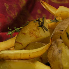 Thyme Roast Potatoes and Parsnips