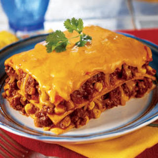 Mexican Lasagna Corn Tortillas Ground Beef Recipes