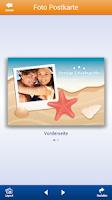 Screenshot of Foto Postkarte