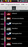 Screenshot of Radioacktiva for Android