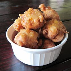 Ham and Corn Beignets